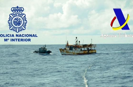 España: Barco venezolano es detenido con 2 toneladas de cocaína
