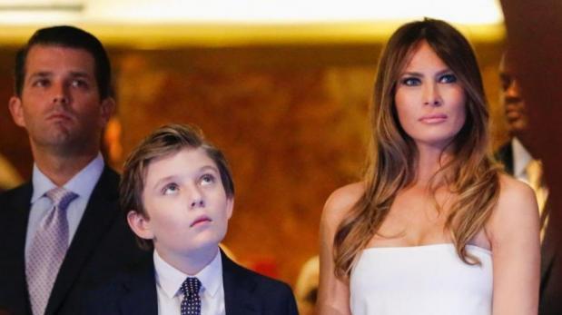 La exclusiva escuela a la que irá el hijo de Donald Trump