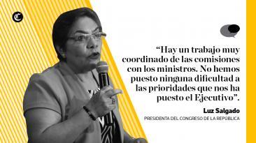 Luz Salgado: sus frases sobre Fujimori, PPK y el Congreso