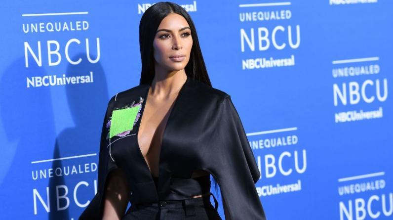 Kim Kardashian West en el NBCUniversal 2017 Upfront realizado en Los Ángeles. (Foto: Agencias9