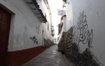 Pintas dañan el Centro Histórico de Cusco [FOTOS]