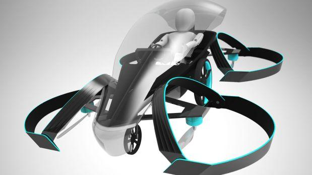 Toyota respalda un proyecto de auto volador con miras a 2020