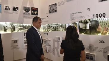 El Museo de la Presidencia exhibe los regalos dados a Correa