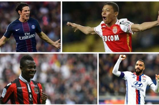 Cavani, Mbappé y Verratti integran equipo ideal de la Ligue 1