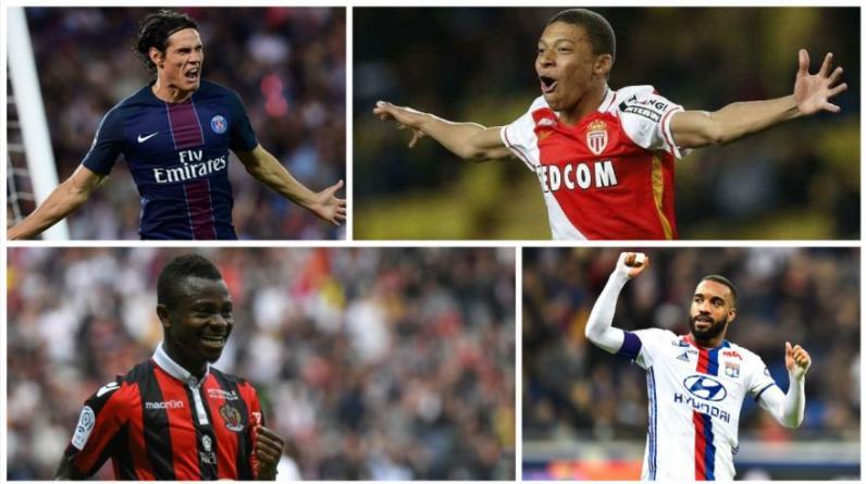 Más del 50% del equipo ideal del campeonato francés está conformado por futbolistas del Mónaco. Destacan Mbappé y Subasic. (Foto: AFP)