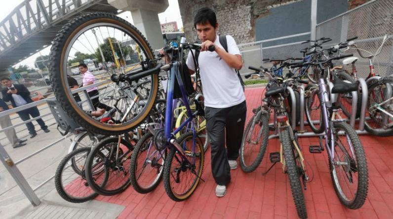 Usuarios podrán aparcar sus bicicletas de manera gratuita desde las 5:30 a.m. hasta las 11:00 p.m. (Lino Chipana/El Comercio)