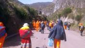 Arequipa: manifestantes bloquean ingreso a valle del Colca