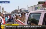 La Victoria: madre de familia murió atropellada por motocicleta