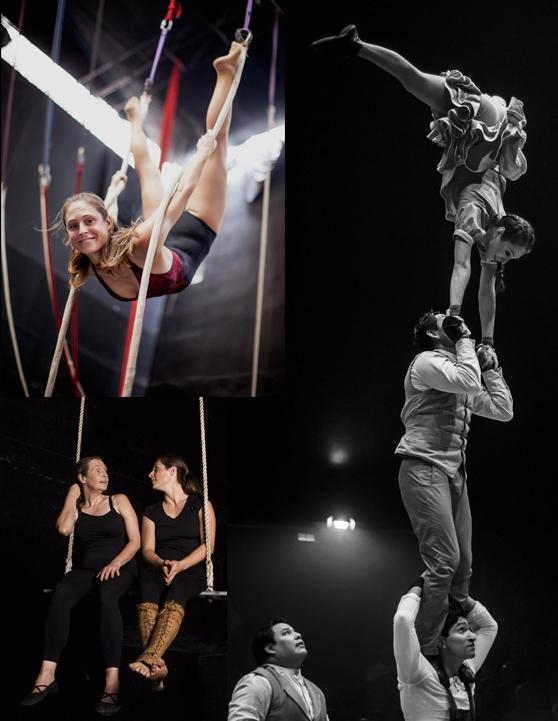 Soledad Ortiz de Zevallos: la trapecista que hace giras en Europa