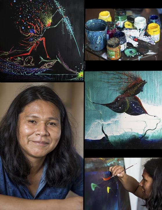 Rember Yahuarcani: el pintor que retrata la memoria de la Amazonía