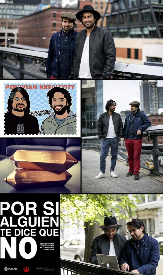 Los publicistas peruanos que lideran una agencia de Nueva York
