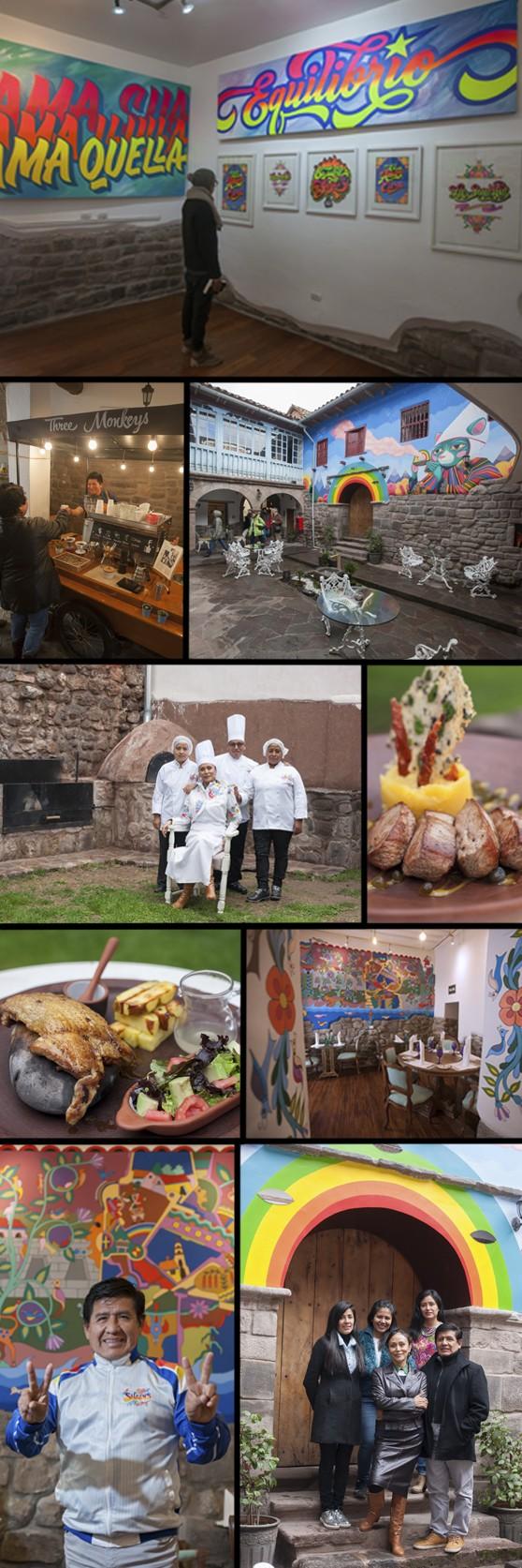 Rica Chicha: un espacio en Cusco que defiende la cultura popular