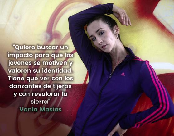 """[VIDEO] Vania Masías: """"Yo seré bailarina hasta el día que me muera"""""""