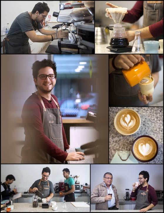 """Harrysson Neira: """"Los baristas somos los guardianes de la calidad del café"""""""