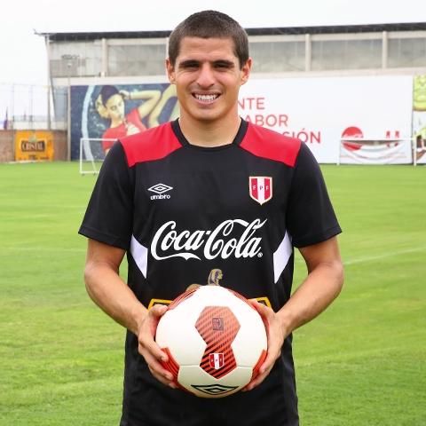 Aldo Corzo, futbolista profesional.