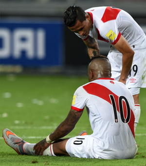 Perú 3-4 Chile: la selección hizo todo, pero no alcanzó