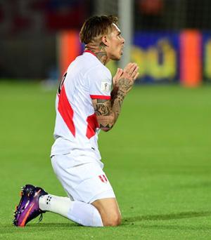 Chile 2-1 Perú: la derrota a cinco minutos del final