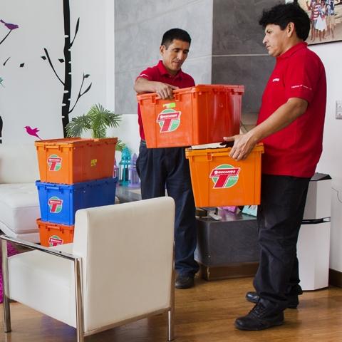 El servicio Express es para quien requiere una mudanza sencilla, de un departamento pequeño a un espacio similar.