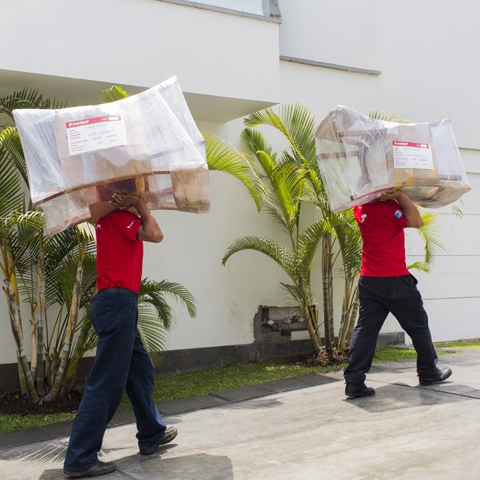 Hoy Toscanos tiene más de 100 camiones para carga de productos y seis unidades de negocio.