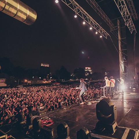 Sus conciertos más grandes en Lima han sido los de Tame Impala, Foster the People y recientemente Phoenix