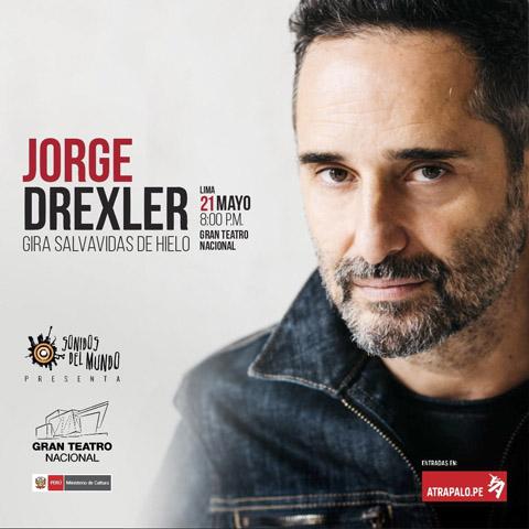 En Atrápalo, ya se pueden comprar las entradas para el concierto de Jorge Drexler que se llevará acabo el 21 de mayo del 2018. Ofrece un descuento de 15%.