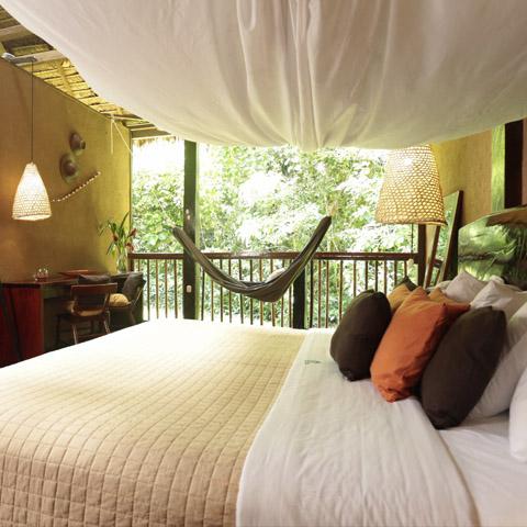 Desde 229 dólares por persona cuesta pasar una noche en el albergue Posada Amazonas.