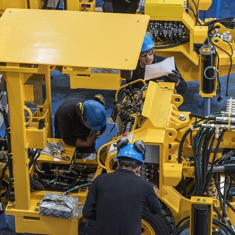 Resemin, que fabrica maquinaria para minería subterránea, ha logrado llegar a los cinco continentes.