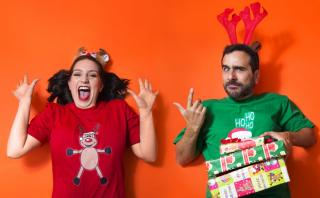 ¿Cómo celebran la navidad Daniela Baertl y Giovanni Ciccia?