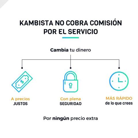 En Kambista, se realizan 50 operaciones de cambio de moneda al día, unas mil en promedio al mes.