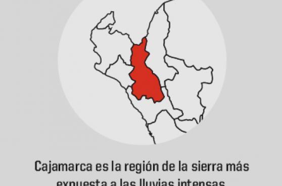 Zonas del país en riesgo ante lluvias intensas