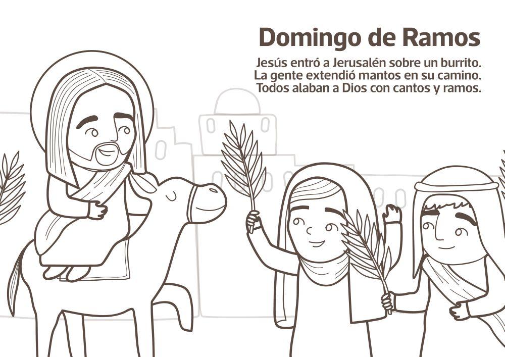 Dibujos Colorear Semana Santa Infantil: Dibujos De Semana Santa Para Colorear Http
