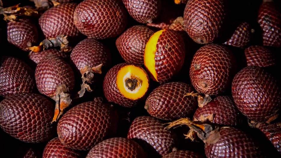 Aguaje. Para Pozo, el alto contenido de betacarotenos (provitamina A) de este fruto sudamericano supera al de la zanahoria, espinaca y pimiento. Además de cuidar la salud ocular, contribuye a la prevención de diversos tipos de enfermedades como cáncer y diabetes.