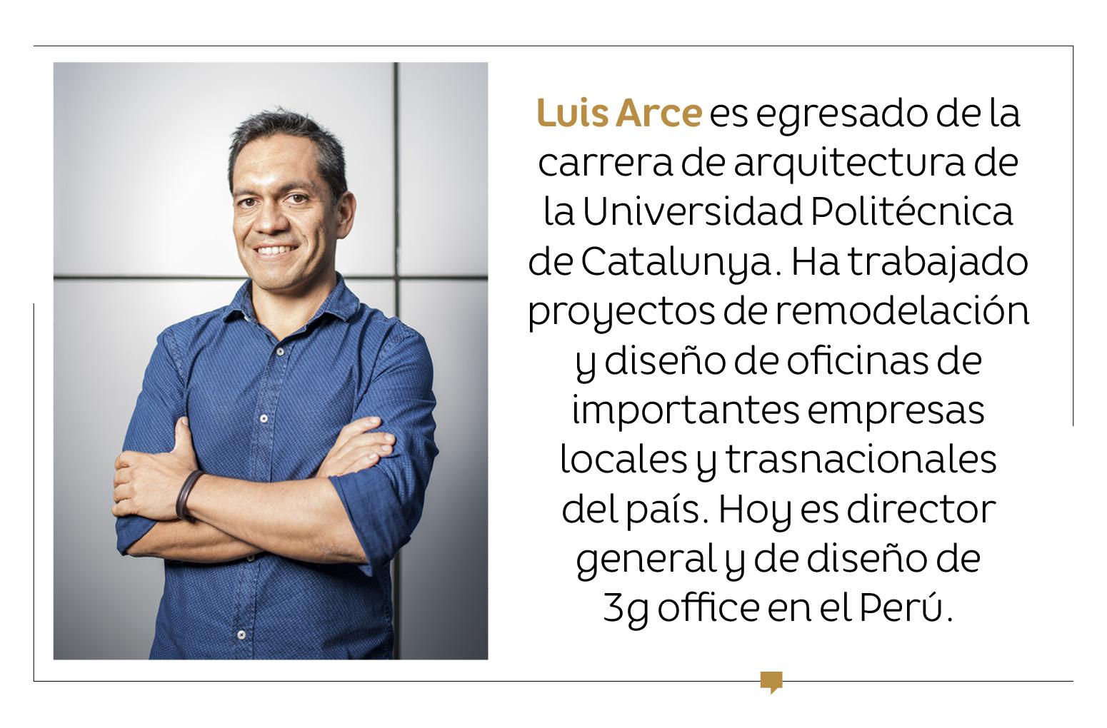 """Luis Arce: """"Se debe crear oficinas bajo la experiencia del trabajador"""""""