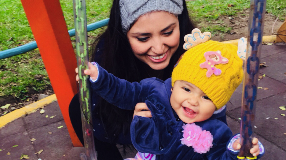 """[VIDEO] Nicole Pillman: """"Mi hija llegó en el momento exacto"""