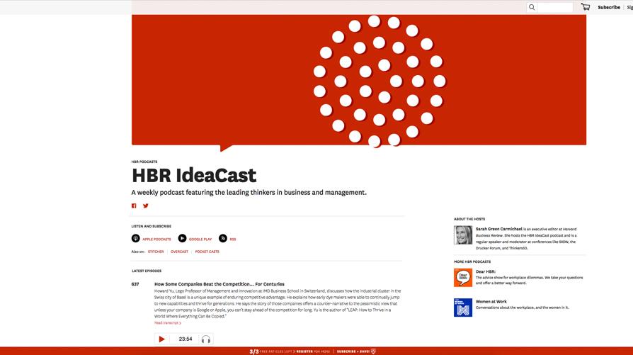 Podcast: 6 espacios que te motivarán a crear un negocio