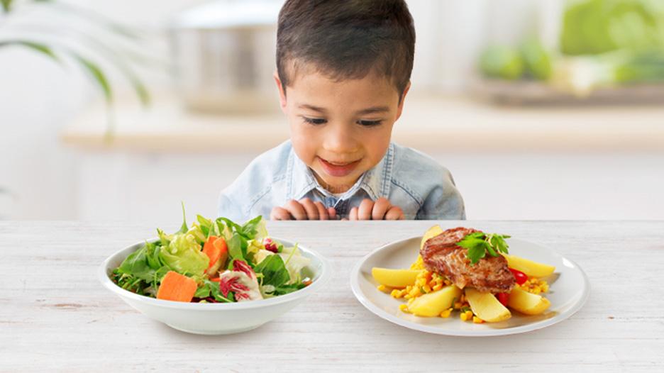 Vegetariano o carnívoro: ¿Cómo lograr un balance para tu hijo?
