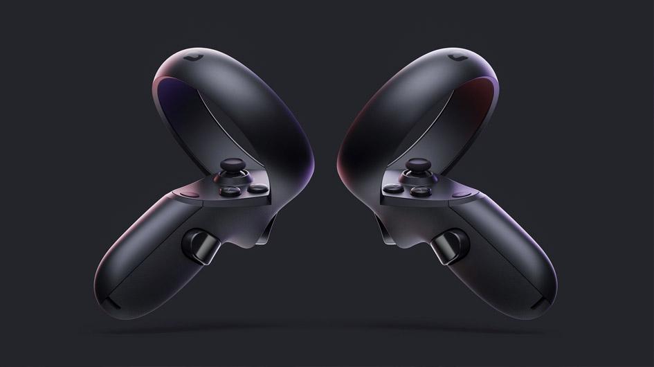 Los controles utilizados con Oculus Quest son ligeramente más pequeños que los anteriores. Además, el visor cuenta con sensores que detectan cada uno de sus movimientos.