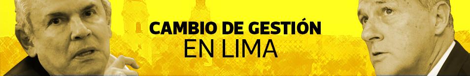 Cambio de gestión en Lima