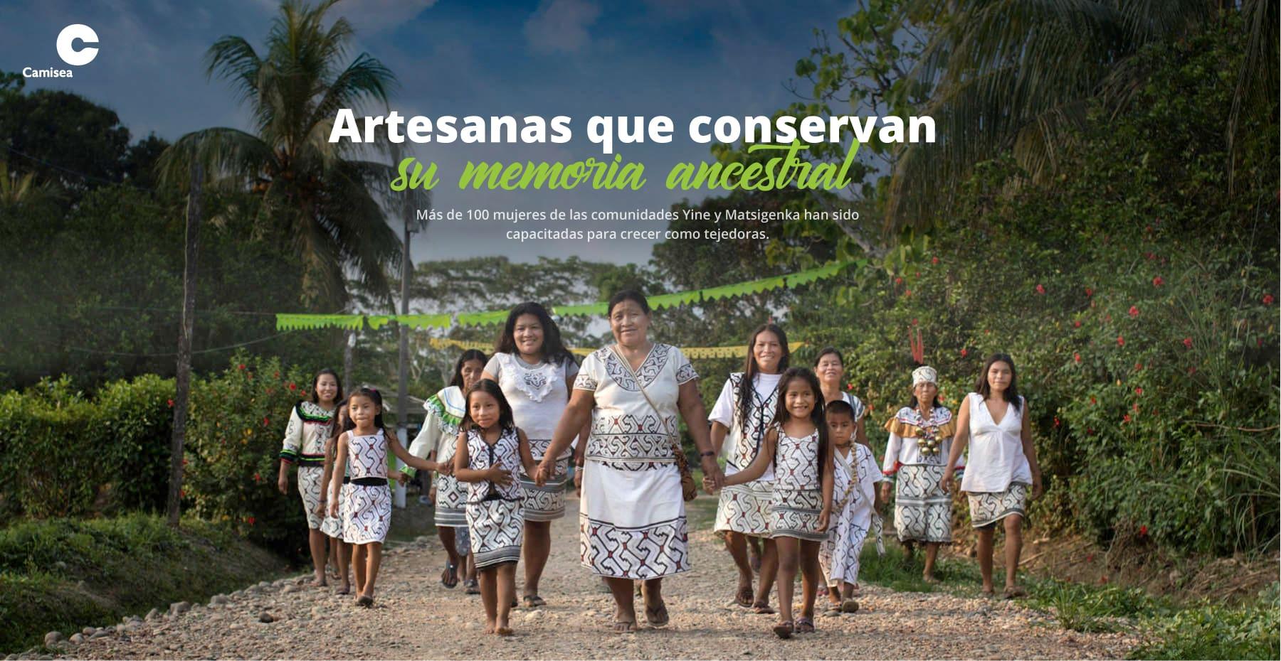 Mujeres artesanas que conservan su memoria ancestral