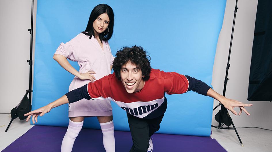 Ximena Galiano y Mateo Garrido Lecca han sabido ganarse a sus seguidores con contenido original y divertido.