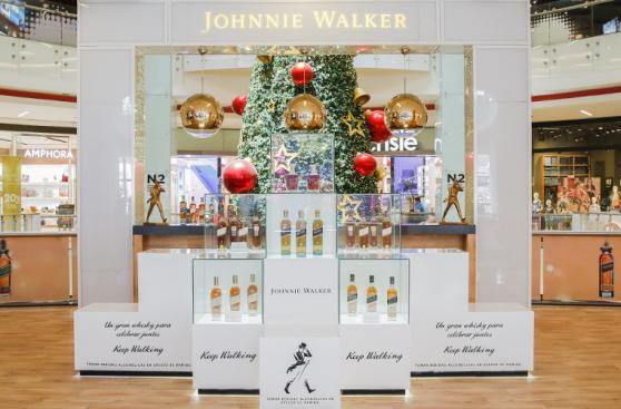 Johnnie Walker abre por segunda vez un Pop Up Store en Lima