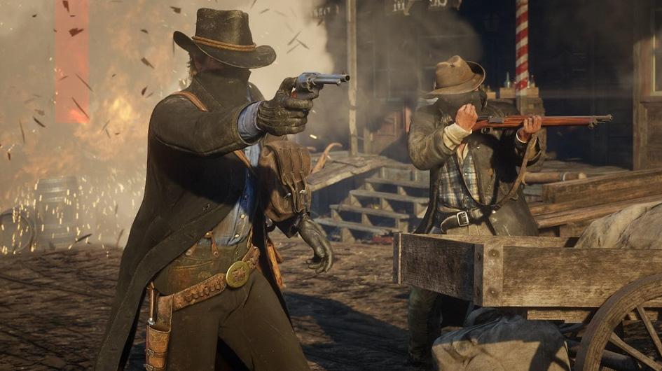 Red Dead Redemption II. Se trata de la precuela del juego de acción y aventuras al estilo western. Esta versión destaca por su realismo gráfico. Pasar el modo principal toma más de 60 horas y recorrerlo al 100% más de 200.