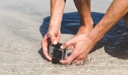 [FOTOS] ¿Vas a la playa? 5 gadgets y accesorios resistentes al agua