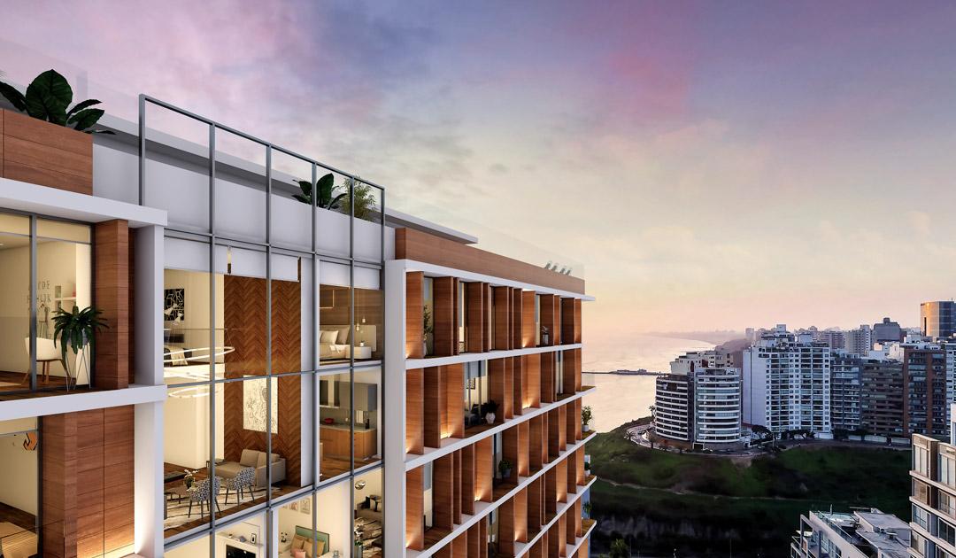 El proyecto The Modern se encuentra en una de las mejores zonas de Barranco, a pocos pasos del Malecón Paul Harris.