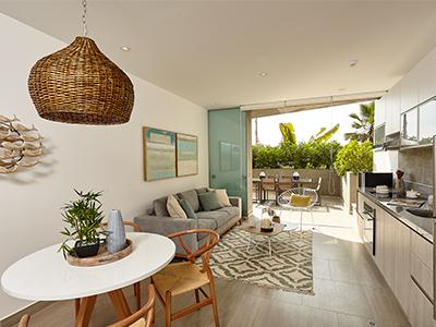 Reconoce cuáles son los mejores acabados para una casa de playa