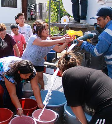 Construcción planificada: Una solución ante la escasez de agua