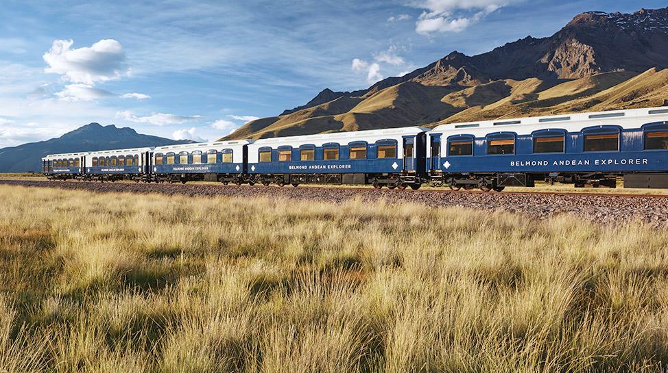 Recorre los andes peruanos a bordo de trenes exclusivos. Disfruta de paisajes encantadores, comida típica y hasta habitaciones cinco estrellas.