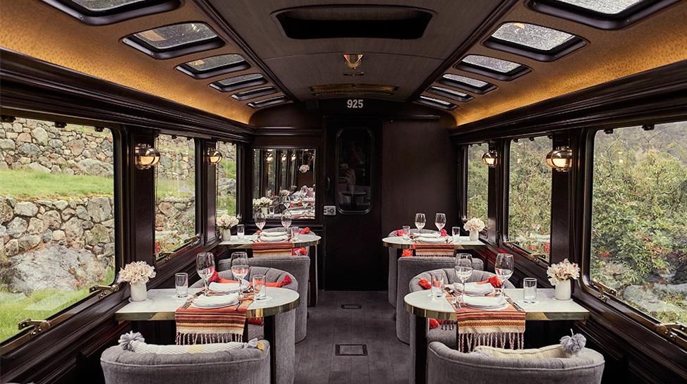 Llegar a nuestra maravilla a bordo de The Private Machu Picchu Train cuesta US$ 11.000, ida y vuelta.