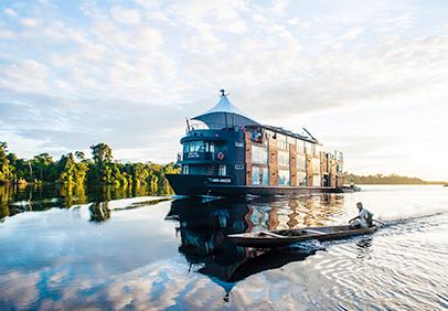[FOTOS] Cruceros: el lujo de navegar el río Amazonas