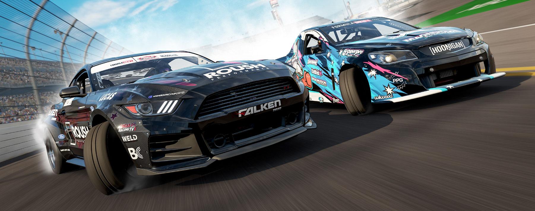 Forza Motorsport . Este es un videojuego de carreras desarrollado por Turn 10 Studios y publicado por Microsoft para el sistema de juegos Xbox.